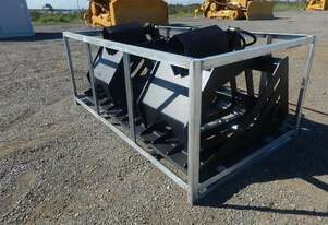 Hydraulic Grapple Bucket to suit Skidsteer Loader