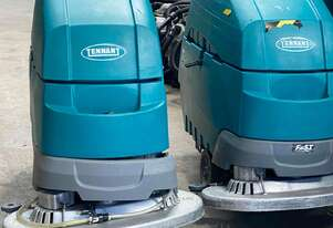 tennant t5E WALK BEHIND SCRUBBER 5 AVAILABLE