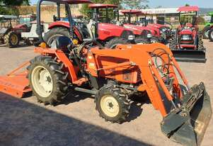 Kioti / Daedong LK35 tractor 4in1 loader & slasher