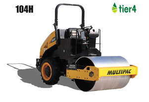 Multipac 104H 4T smooth drum roller
