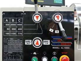 AL-1000C Centre Lathe 356 x 1000mm Turning Capacity - 40mm Spindle Bore Includes Digital Readout - picture4' - Click to enlarge