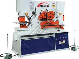 IW-125SH Hydraulic Punch & Shear 125 Tonne, Dual Independent Operation Includes Hydraulic Plate Clam - picture0' - Click to enlarge