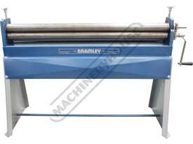 2.5X50 Manual Sheet Metal Curving Rolls 1270 x 1.6mm Mild Steel Capacity - picture0' - Click to enlarge
