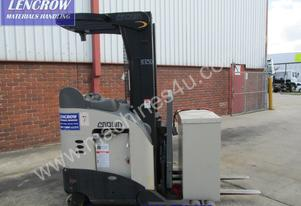 Crown late model reach truck for hire