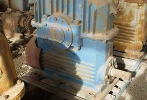 David Brown Worm Underdriven Gearbox