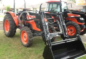 KUBOTA M7040 WITH LOADER 4 IN1 BUCKET 4 HOURS ONLY