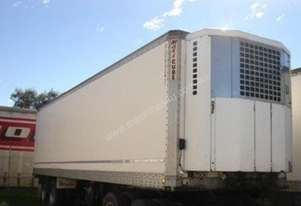 1988 Maxicube Refrigerated Van-Trailer