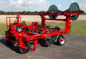 2020 Rocca PMR01 Plastic Mulch Retriever Efficient Plastic Remove Special Offer before June