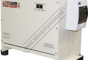 PC6 Phase Change Converter - 240V into 415V Run 6kW / 7.5hp, 415V Motor Machines from 240V Power Sup