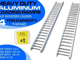 Ramps - 4.0 Ton Aluminum Loading Ramps 375mm WIDE