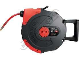 Air-20 Pro Series Air Hose Reel - Retractable  20 Metre x Ø9.5mm ID Hose - picture0' - Click to enlarge