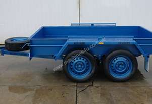 8 x 5 Heavy Duty Commercial Tandem Trailer