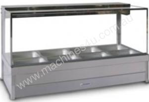 Hot Foodbar - Roband S24 Square Glass Double Row