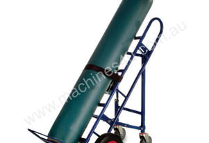 4 Wheel Tilting Gas Cylinder Trolley