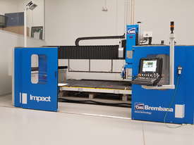 CMS/BREMBANA AUTOMATIC 5-AXIS CNC  BRIDGE SAW - picture4' - Click to enlarge