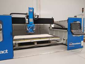 CMS/BREMBANA AUTOMATIC 5-AXIS CNC  BRIDGE SAW - picture3' - Click to enlarge