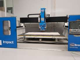 CMS/BREMBANA AUTOMATIC 5-AXIS CNC  BRIDGE SAW - picture0' - Click to enlarge