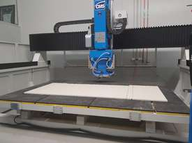 CMS/BREMBANA AUTOMATIC 5-AXIS CNC  BRIDGE SAW - picture9' - Click to enlarge