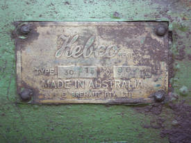 Hebco Type 30 15 No 9061 3 phase metal grinder - picture4' - Click to enlarge