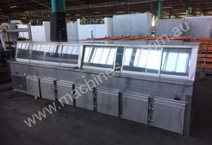 Commercial Glass Refrigeration Fridge Cabinet