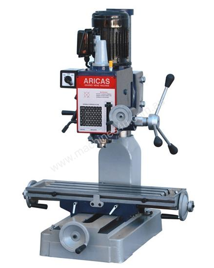 Geared Head Drilling / Milling Machine -Bench