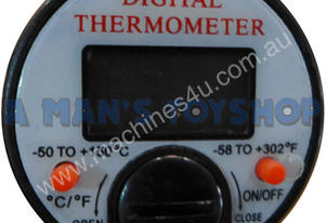 THERMOMETER DIGITAL AIR CON S/STEEL