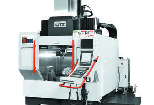 Litz LU-800 High Precision 5 Axis Machining Centre or MillTurn Centre