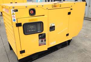 16.5KVA PERKINS SINGLE PHASE STANDBY GENERATOR