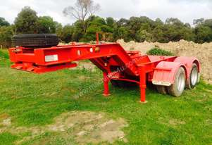 Lusty J.R.M. Low Loader Dolly 2*4 Spring