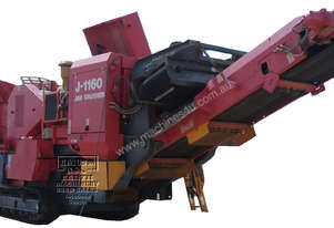 Terex Finlay J-1160 Tracked Jaw Crusher