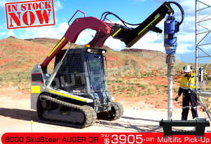 8000 MAX Auger Drive Unit suit Skid Steer up to 150LPM ATTAGT