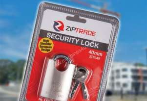40MM ZIPTRADE SECURITY PADLOCK