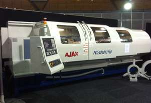 AJAX 720mm & 800mm Swing Flat Bed CNC Lathes up to 255mm bore