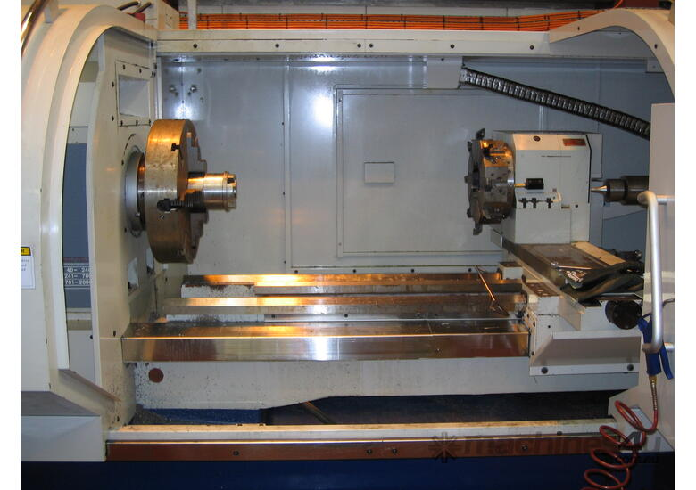 720mm & 800mm Swing Flat Bed CNC Lathes up to 255mm bore