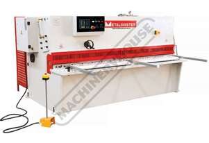 SG-2504E Hydraulic NC Swing Beam Guillotine 2500 x 4mm Mild Steel Shearing Capacity 1-Axis Estun E21