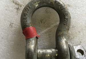 Bow Shackle 4.7 Ton BJ76 Safety Rigging Equipment