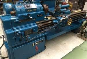 REDUCED \\ Oerlikon centre lathe. 400x1000mm with accessories \\ REDUCED