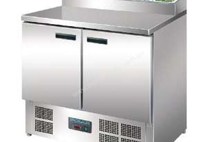 Polar Refrigerated 2 Door Counter Salad/Pizza Preparation (M)-AUS PLUG