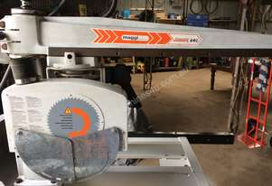 Maggi Radial arm saw with Woodman extraction unit