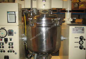 Cream Manufacturing Vacuum Homogensing Mixing Jacketed Vessel for cosmetic manufacture