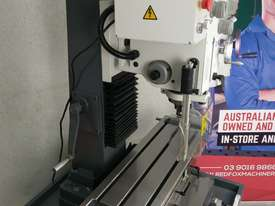 Geared Head Milling Machine Metex DM45 240v MT4 or R8 - picture2' - Click to enlarge