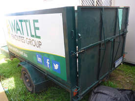 Single Axle 8x5 Box Top Trailer with Sides in Auction - picture2' - Click to enlarge