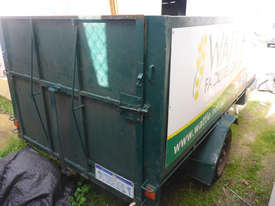 Single Axle 8x5 Box Top Trailer with Sides in Auction - picture3' - Click to enlarge
