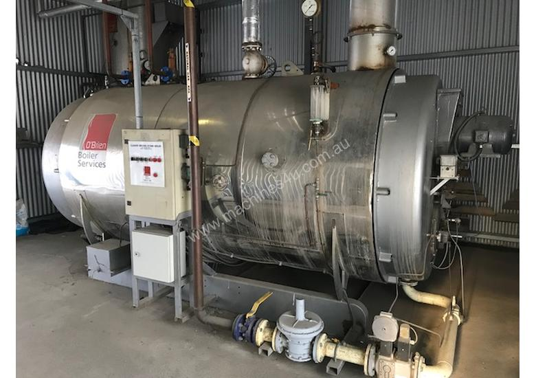 Used Cleaver Brooks CB 1250KW Steam Boiler in North Melbourne, VIC ...