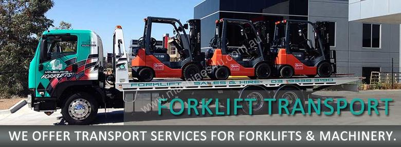 Big Forklifts for hire