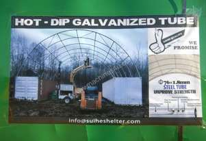 C4040 12.0m x 12.0m x 4.5m Single Trussed Container Shelter-6452-2