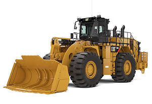 CATERPILLAR 990K STEEL MILL ARRANGEMENT WHEEL LOADER