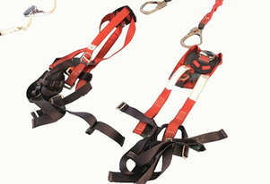 MSA Roof Top Safety Set Harness & Lanyard Twin Set Fall Protection Kit