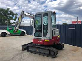 TAKEUCHI TB138FR AIRCON CAB EXCAVATOR S/N: 104 - picture4' - Click to enlarge