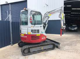 TAKEUCHI TB138FR AIRCON CAB EXCAVATOR S/N: 104 - picture9' - Click to enlarge